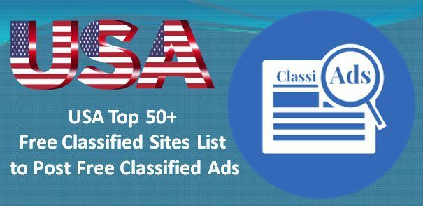 80+ USA Classified Sites