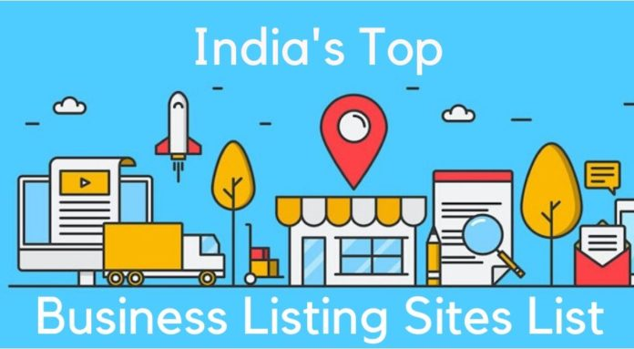 top india business listing sites